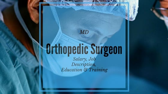 orthopedic surgeon salary and job description